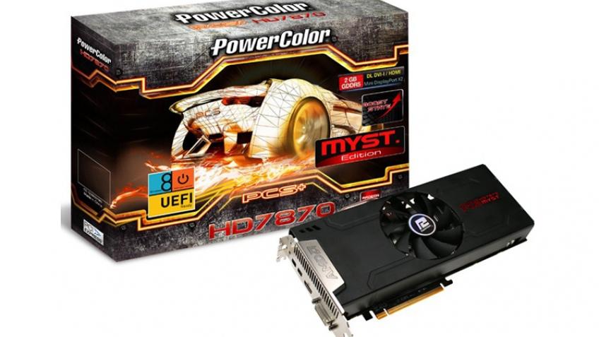 Представлена видеокарта PowerColor PCS+ HD7870 Myst. Edition