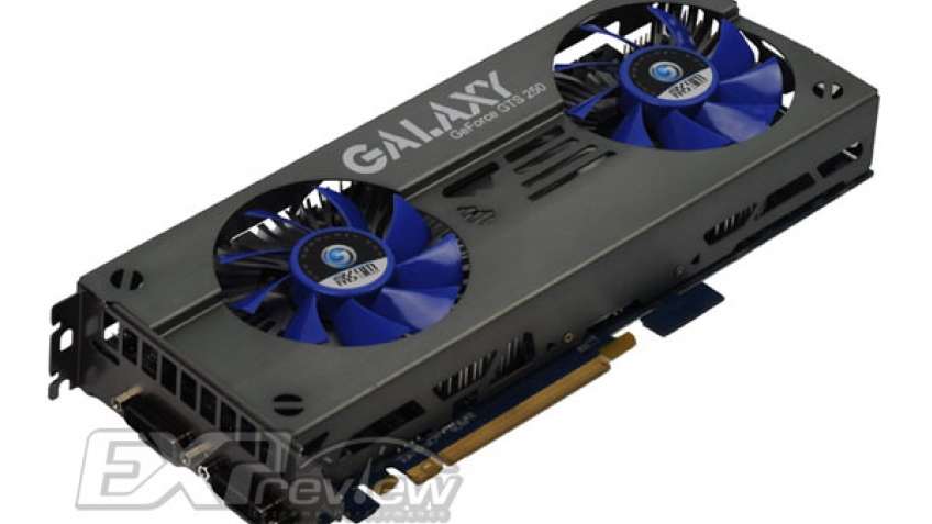 Galaxy показала двойную модификацию GeForce GTS 250