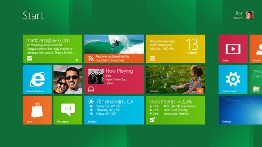 Публичная бета-версия Windows 8 доступна для скачивания