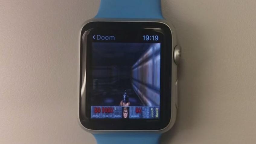 Doom запустили на Apple Watch