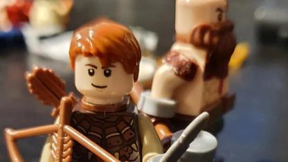 Поклонник God of War создал LEGO-версии Кратоса и Атрея
