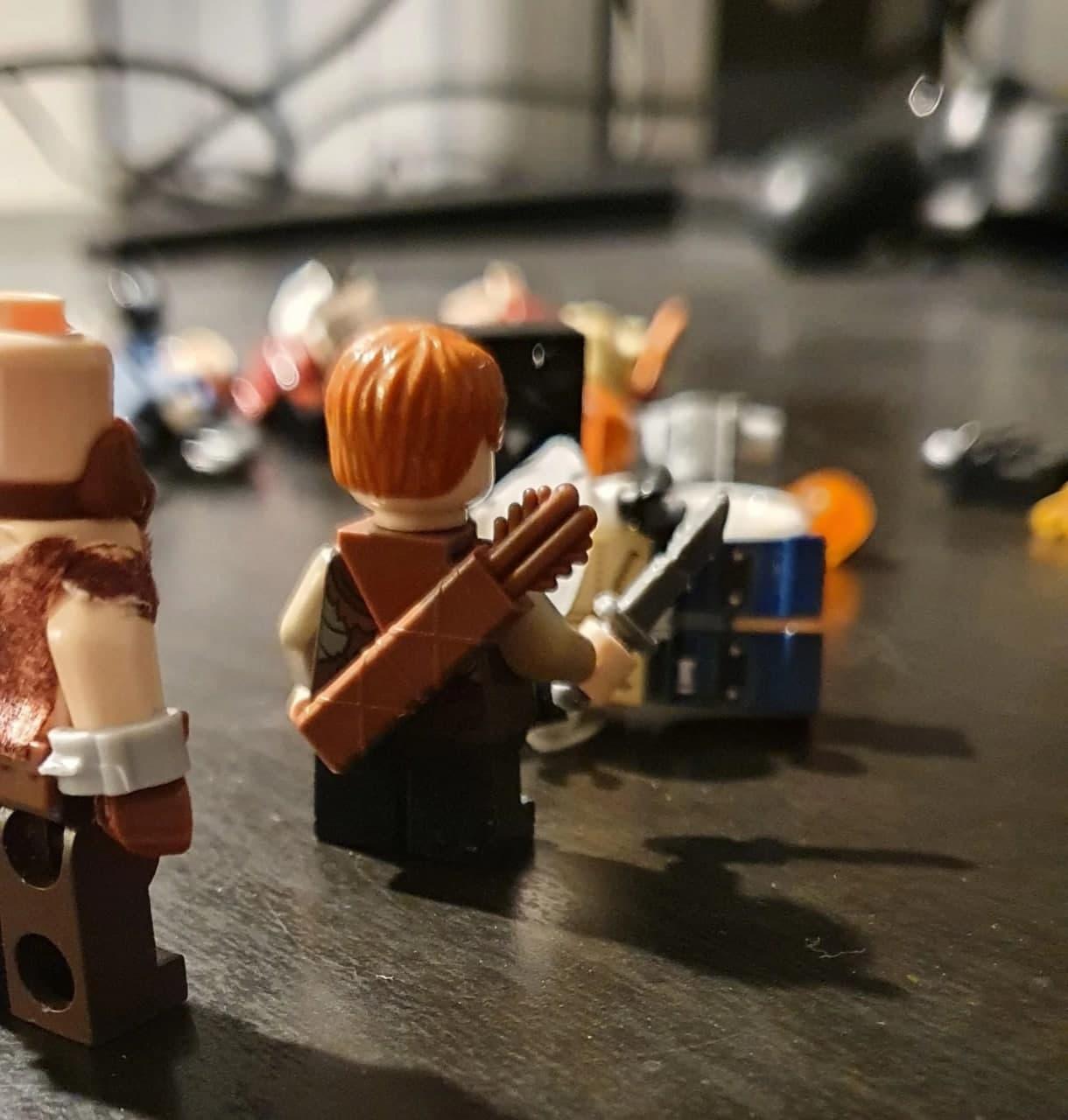 Поклонник God of War создал LEGO-версии Кратоса и Атрея2