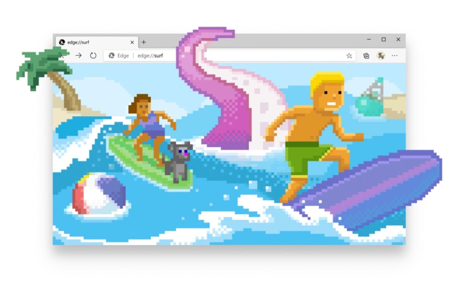 Встроенная в Microsoft Edge игра теперь доступна всем