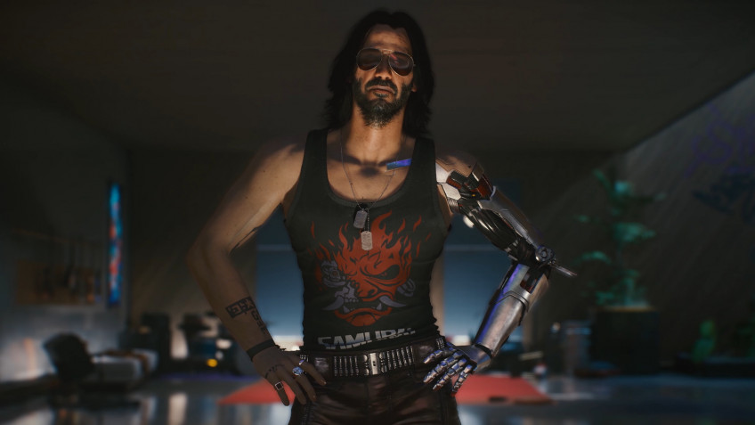 Предзаказы Cyberpunk 2077 возглавили свежий чарт Steam