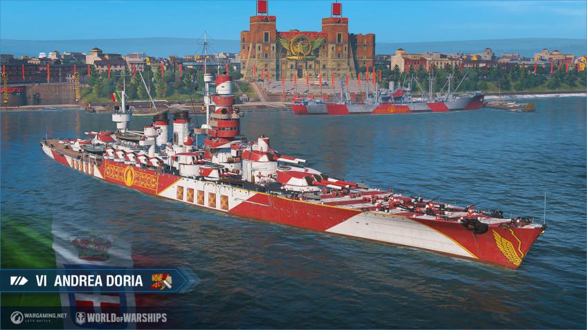 В World of Warships появились итальянские линкоры