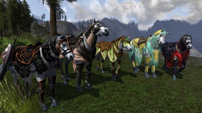 Битвы на лошадках в новом дополении для «Властелин Колец онлайн»