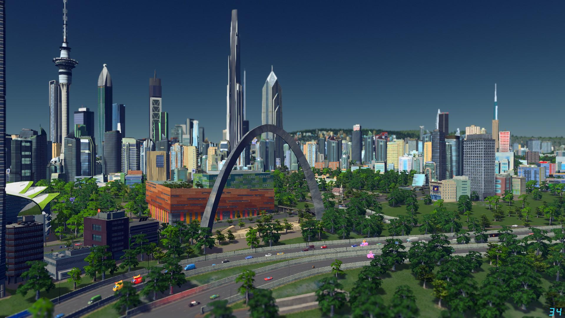 В Steam до15 февраля можно бесплатно играть в Cities: Skylines