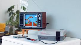 LEGO и Nintendo анонсировали конструктор с NES, геймпадом и телевизором