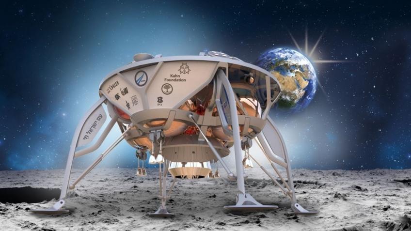 Израильский луноход Beresheet разбился при посадке на Луну