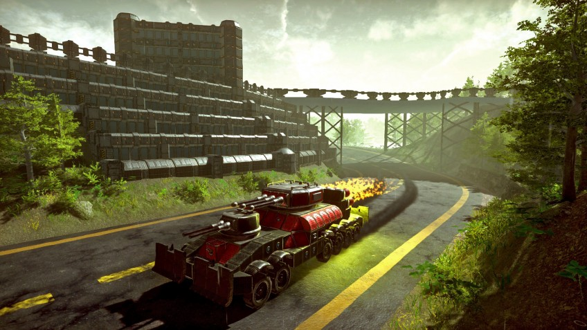 На Kickstarter стартовала кампания конструкторской песочницы Dieselpunk Wars