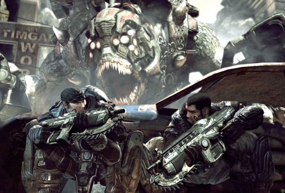 Gears of War поставят на рельсы ради Kinect