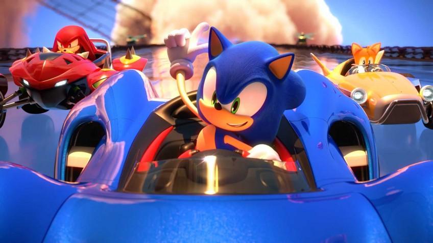 Английская розница: Team Sonic Racing стартовала лучше других гонок про Соника