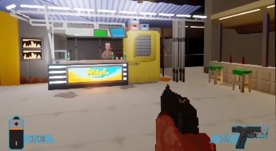 Вот так Cyberpunk 2077 мог бы выглядеть на PS1