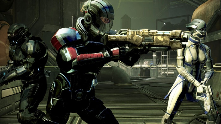 Mass Effect 3: звезды в студии