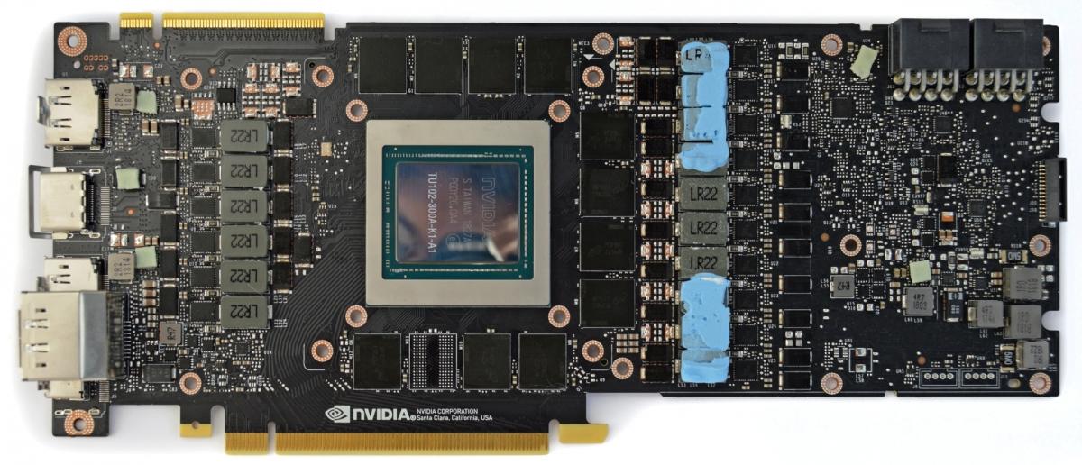 NVIDIA больше не будет сортировать GPU Turing
