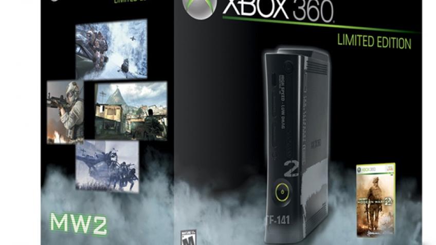 Modern Warfare 2 и Xbox 360 уместили в одну коробку