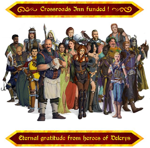 Crossroads Inn успешно прошла Kickstarter