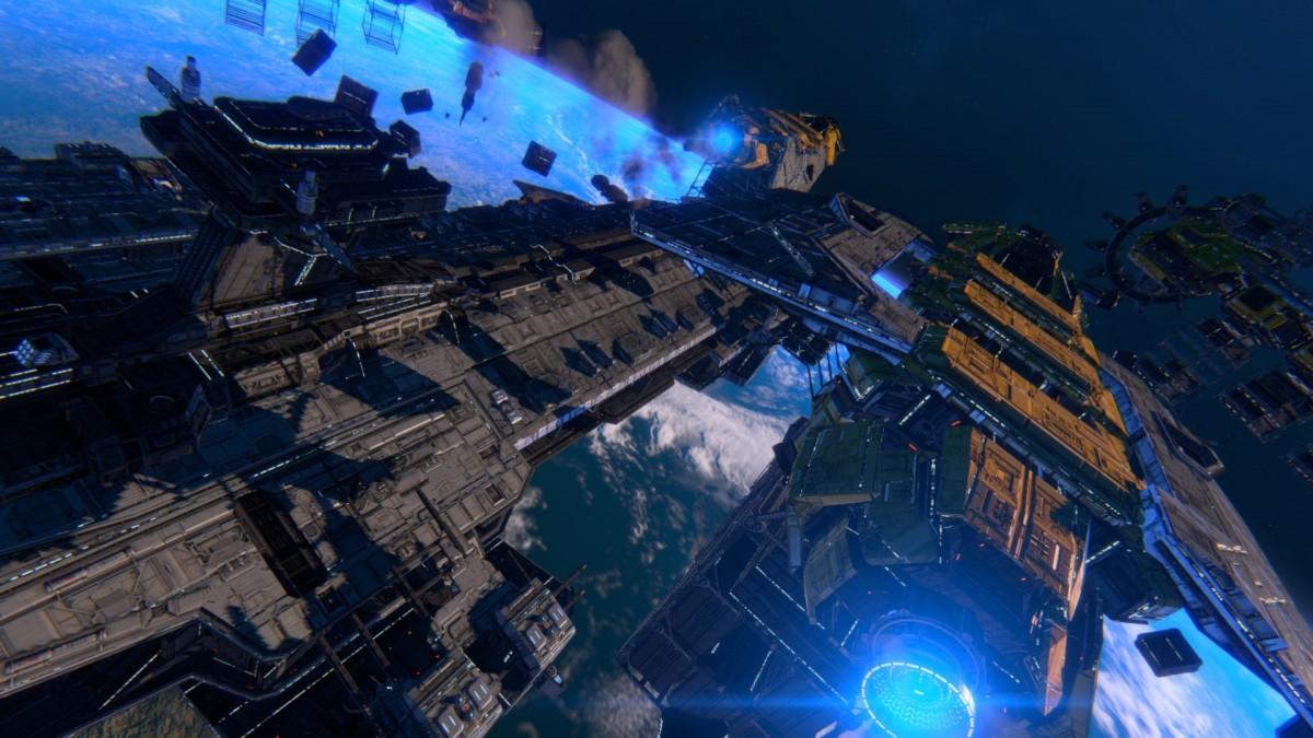 В Star Conflict состоялось глобальное обновление космического флота