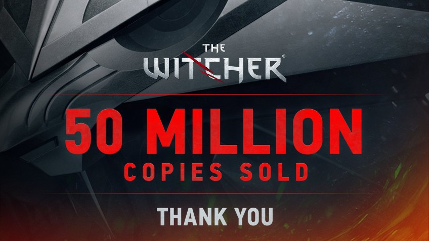"""Продажи игр по «Ведьмаку» превысили 50 млн копий"""">"""