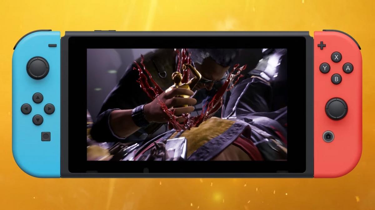 NetherRealm впервые показала Mortal Kombat11 на Nintendo Switch