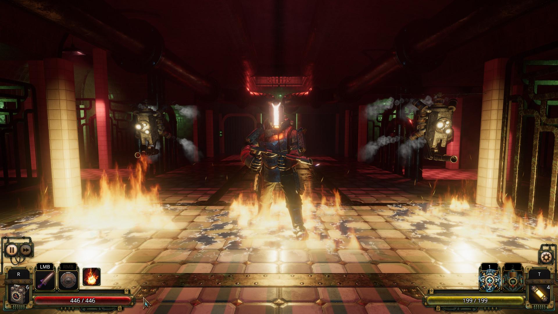 Ролевой экшен Vaporum: Lockdown выйдет на PC через две недели