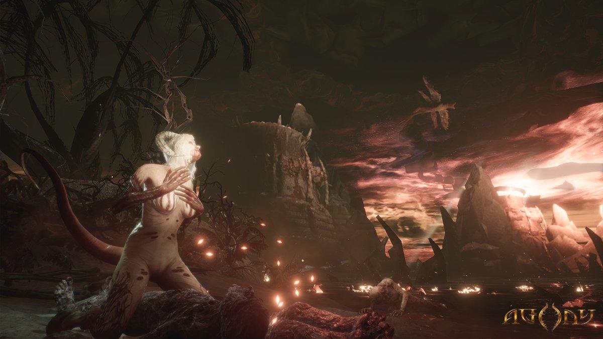 Горячие адские женщины: новые изображения из ужастика Agony