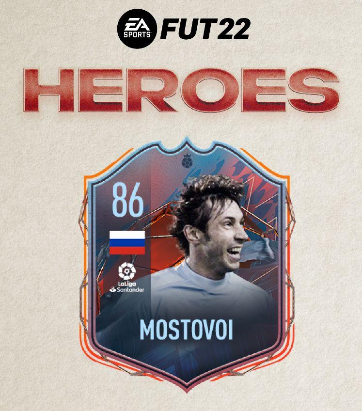 Александр Мостовой станет «Героем FUT» в FIFA 221