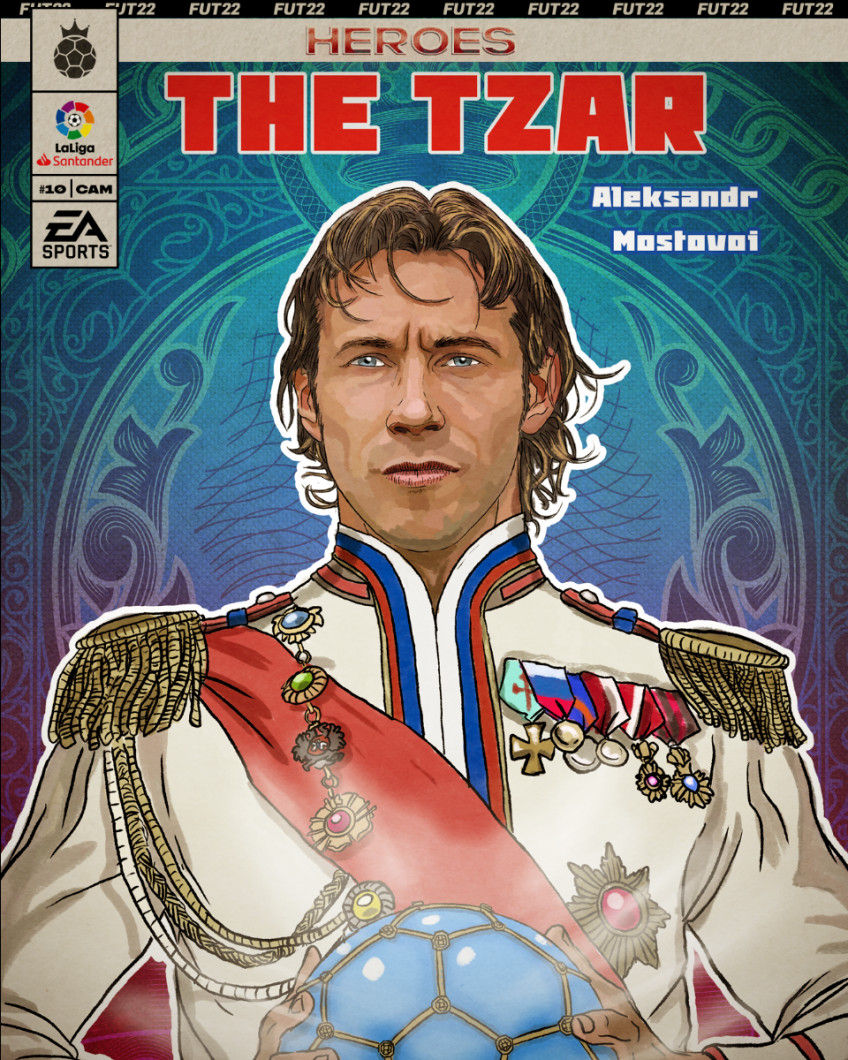 Александр Мостовой станет «Героем FUT» в FIFA 222