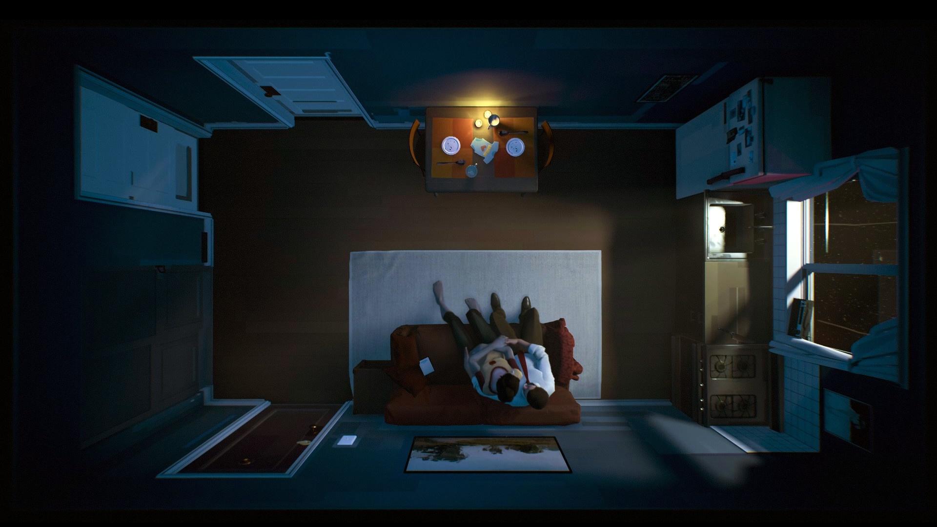 Создатели12 Minutes выстроили копию комнаты для записи анимации и звуков