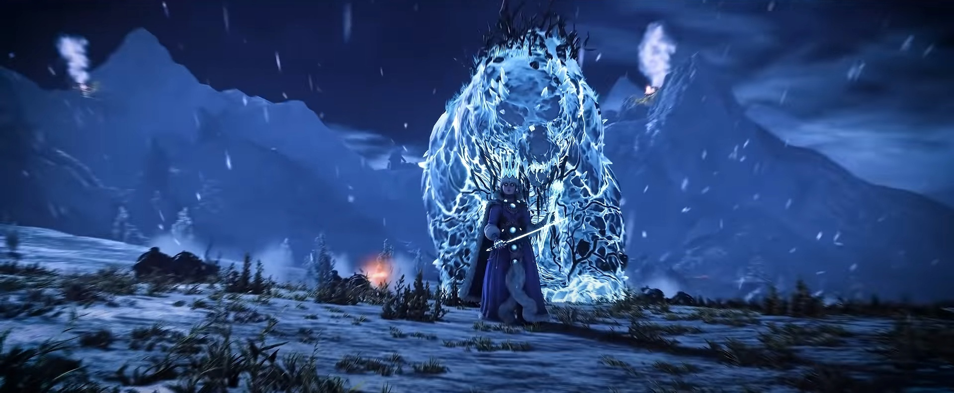 Зима, медведи и Королева льда в новом ролике Total War: Warhammer III