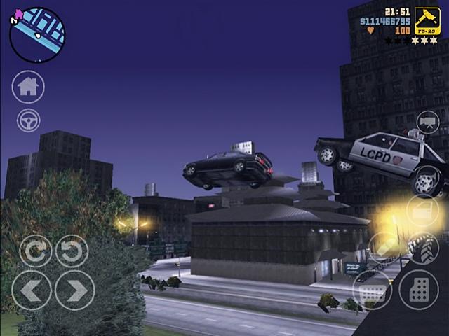 Боевик GTA3 готов покорять iPhone