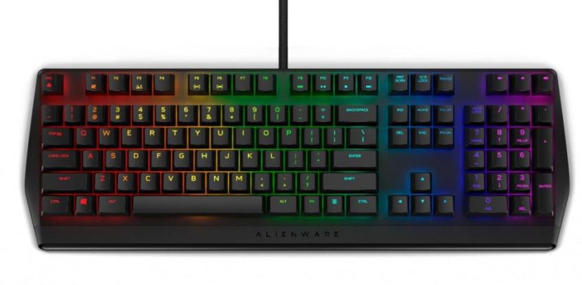 Alienware представила новую механическую игровую клавиатуру