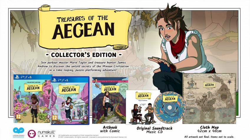 Метроидвания Treasures of the Aegean выходит на PC и консолях11 ноября
