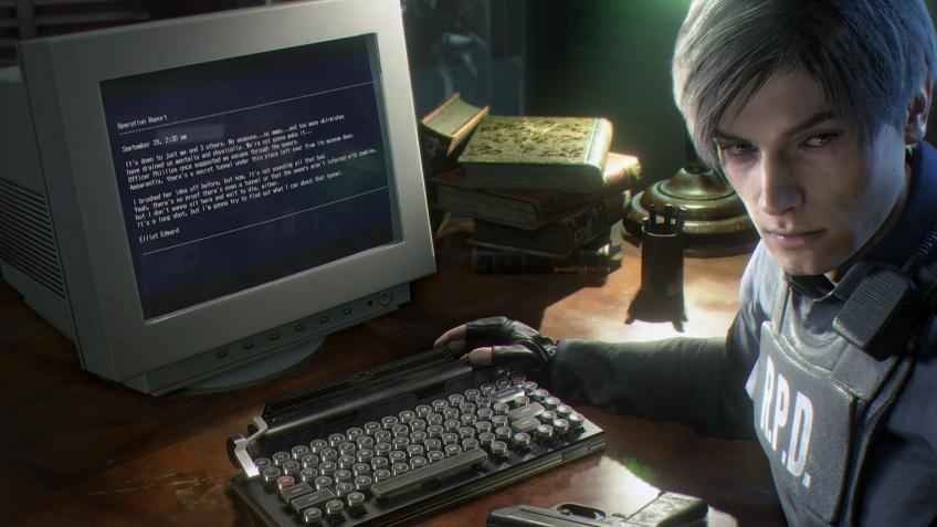 В коллекционку Resident Evil2 войдёт клавиатура в виде пишущей машинки