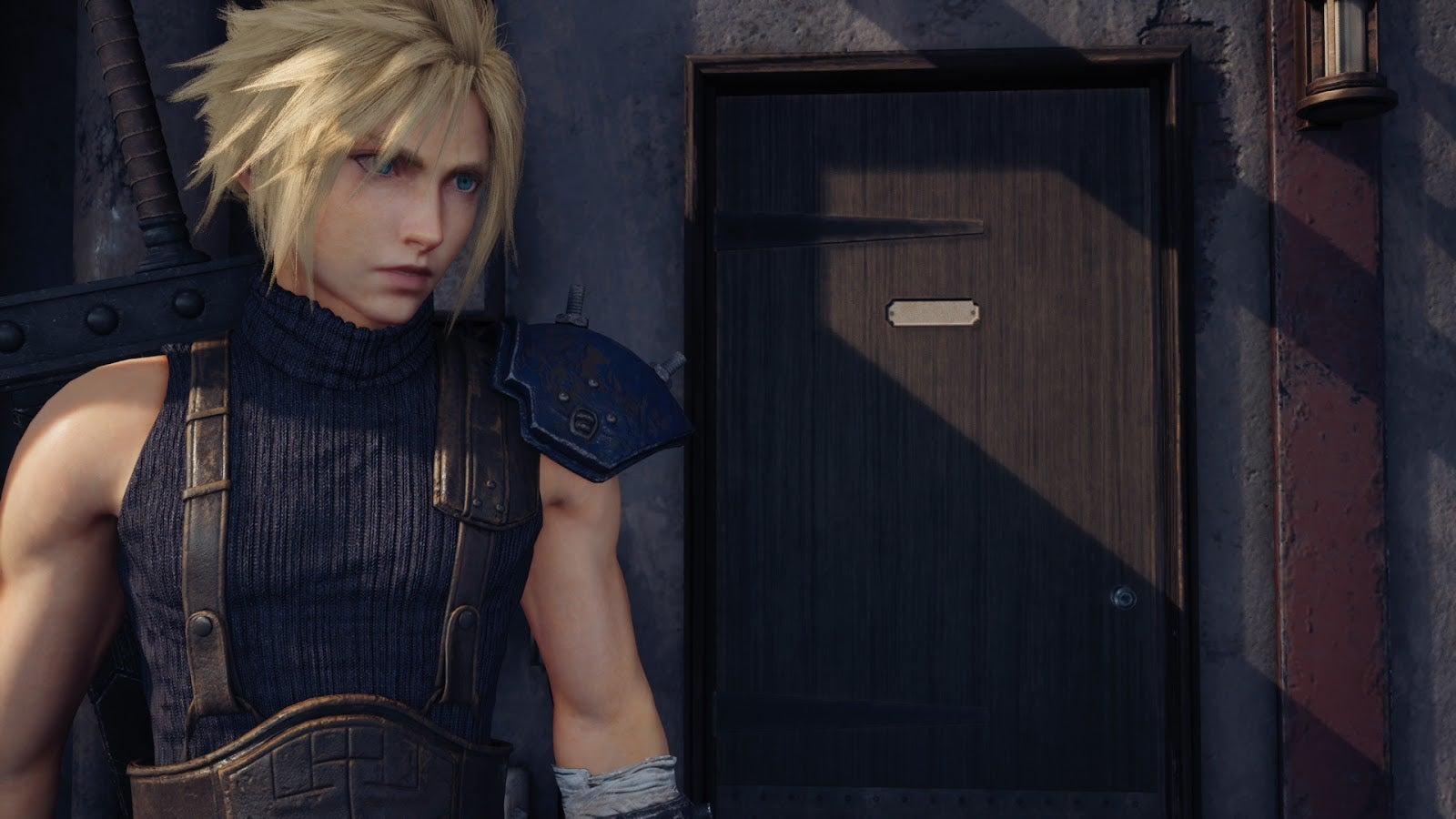 Достойно некстгена: в ремейке Final Fantasy VII на PS5 исправили текстуру двери