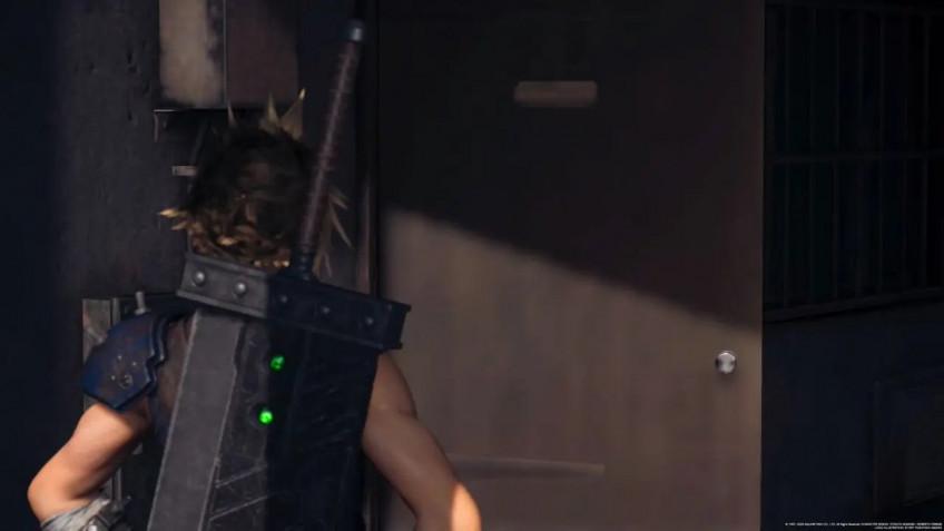 Достойно некстгена: в ремейке Final Fantasy VII на PS5 исправили текстуру двери1