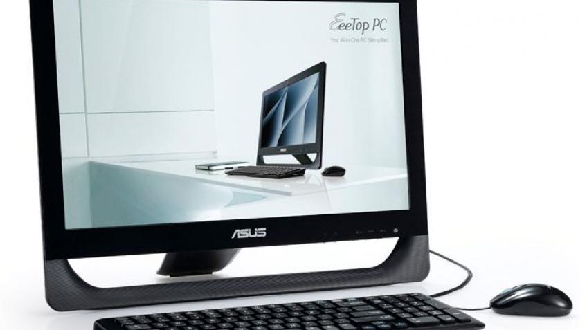 ASUS начала продавать стильные компьютеры Eee Top ET2010