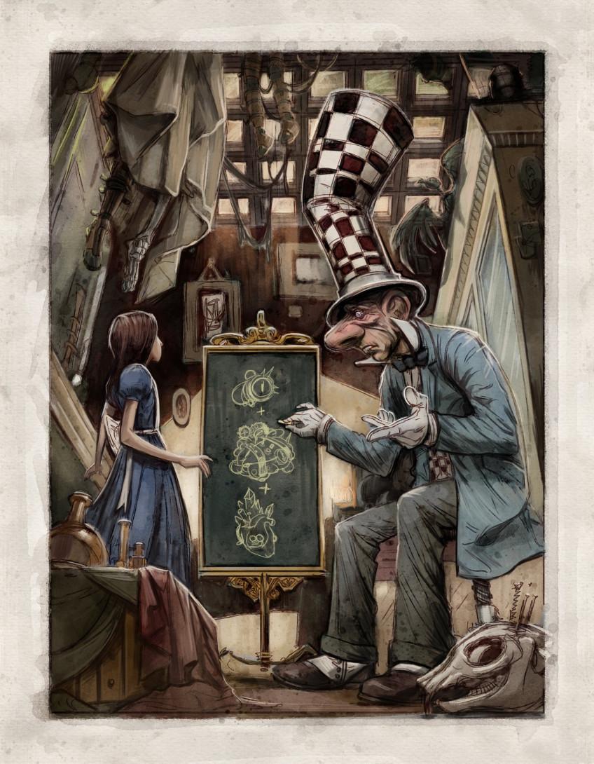 Американ МакГи опубликовал сценарий новой «Алисы» — Alice: Asylum2