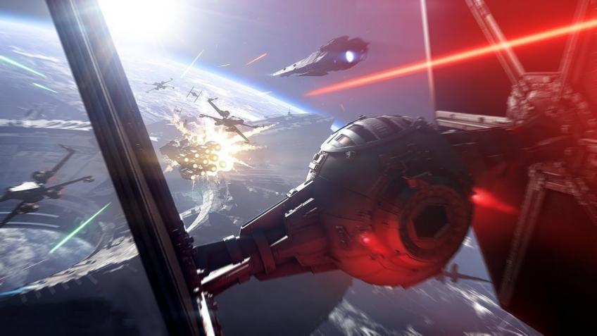 Star Wars Battlefront I, II, III: Пилот бомбардировщика TIE записал игровой процесс Star Wars Battlefront 2