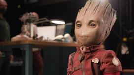 Инженеры Disney создали реалистичного робота-Грута, который умеет ходить