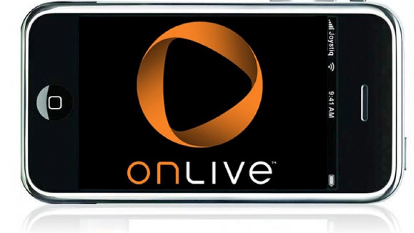 OnLive придет на Apple iPhone?
