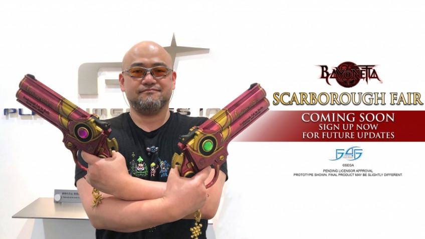 Полноразмерные реплики пистолетов из Bayonetta представлены официально