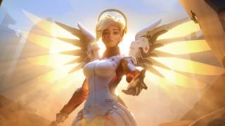 Mercy из Overwatch получила фигурку с раскрывающимися крыльями