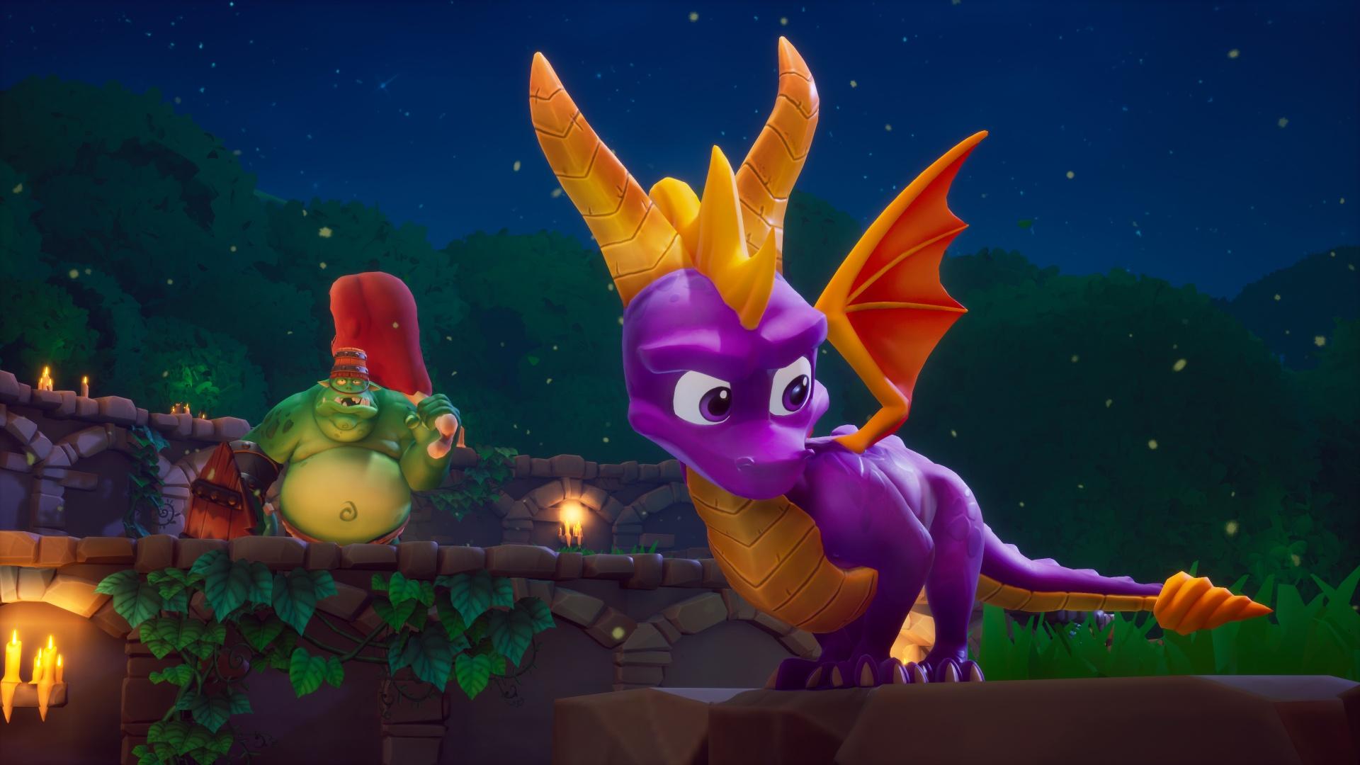 Английская розница: Spyro Reignited Trilogy заняла второе место благодаря релизу на Switch