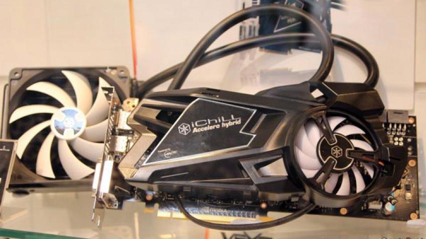 Inno3D привезла на CeBIT GeForce GTX Titan с гибридной СО