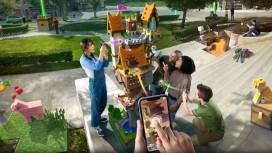 Анонсирована Minecraft: Earth — мобильная игра в дополненной реальности