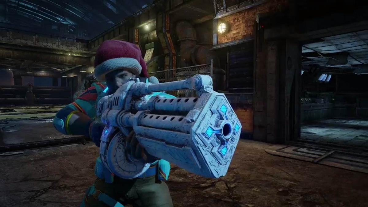 В Gears of War4 скоро наступит Рождество