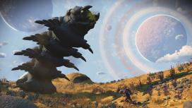 В новой экспедиции No Man's Sky появился сюжет и огромные черви