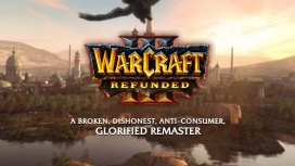Энтузиаст воссоздал сайт Warcraft III: Reforged, где теперь высмеивает Blizzard