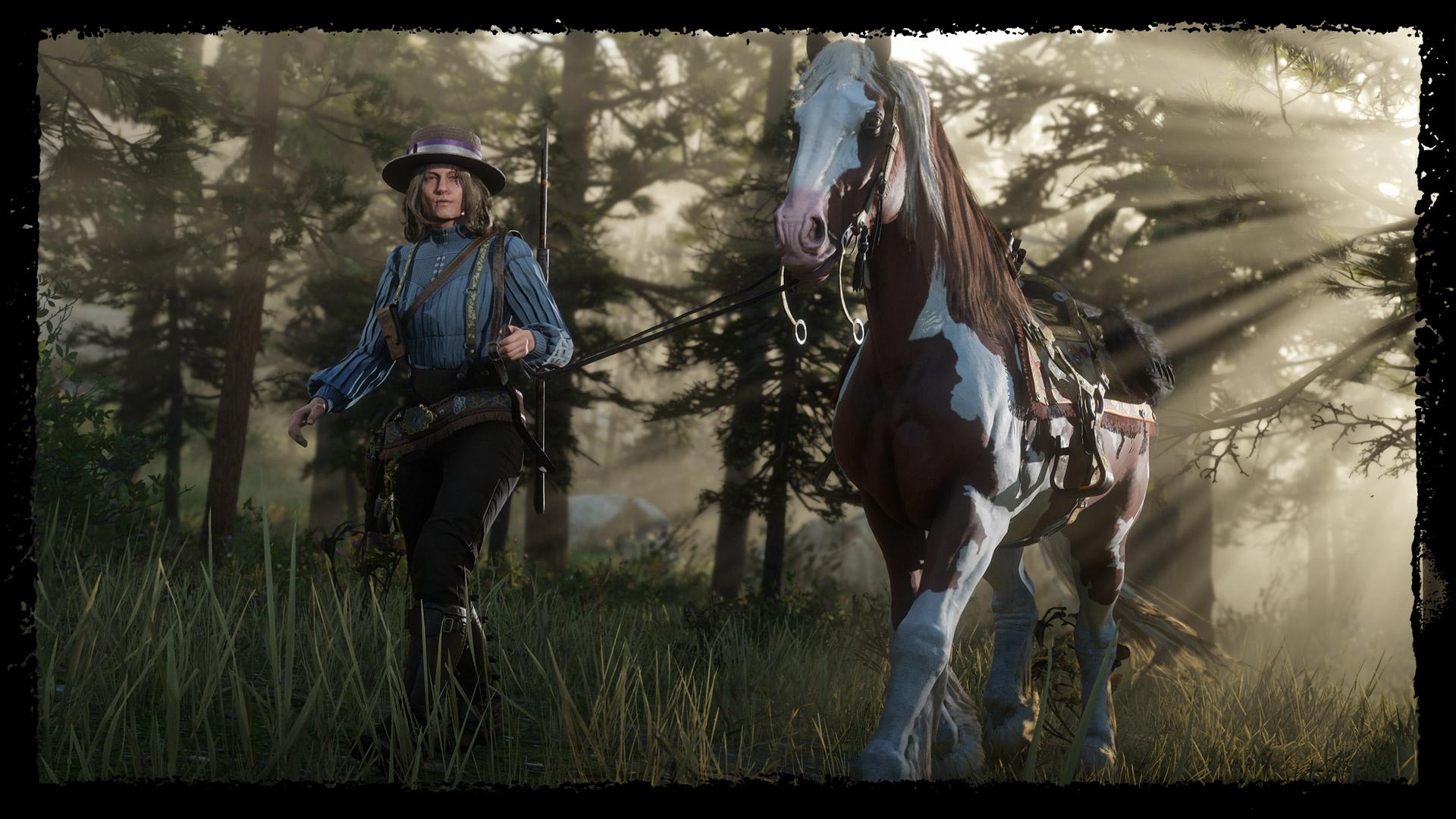 Игроки Red Dead Online уже могут стать натуралистами
